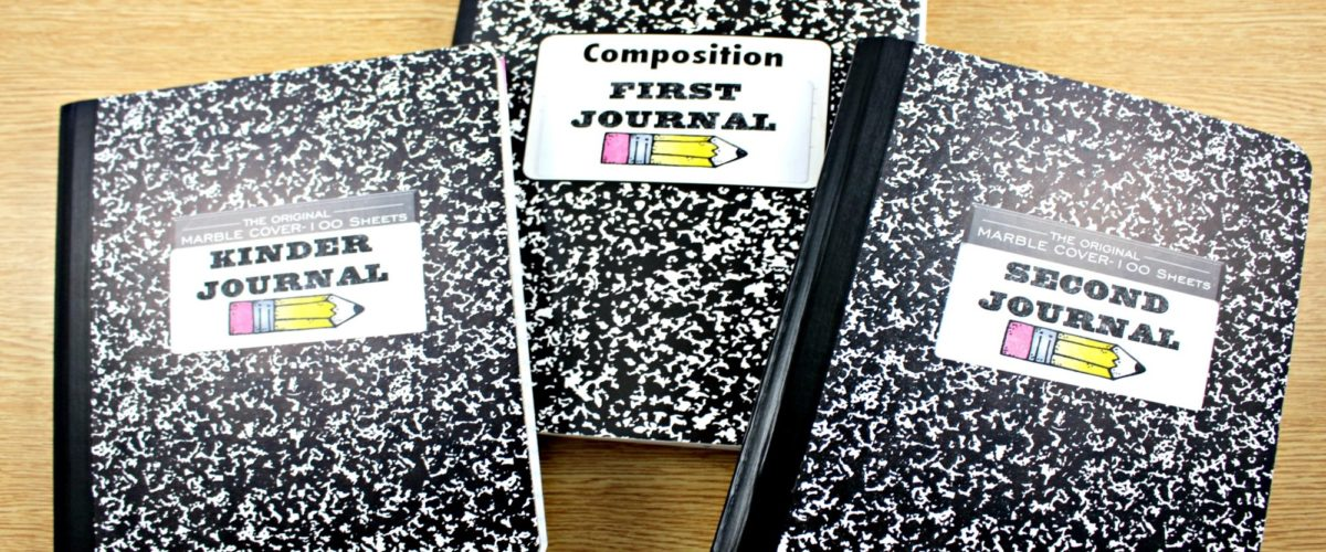Math Journal K, 1, and 2