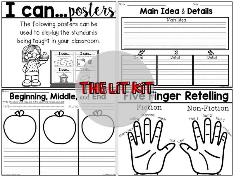 lit kit comprehension