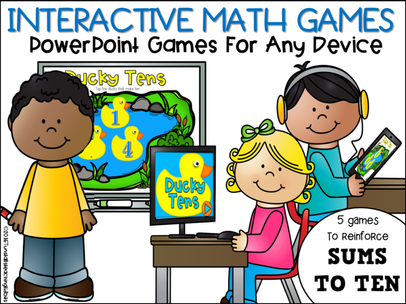 Interactive math games
