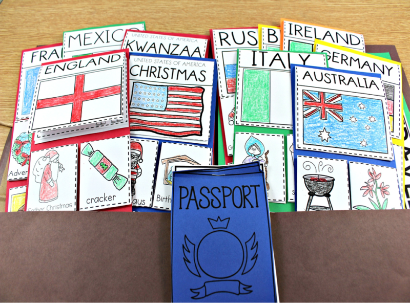 Holidays around the world tunstall 39 s teaching tidbits for Christmas crafts for kindergarten class