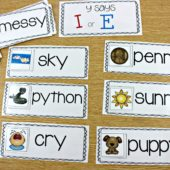 phonics word family