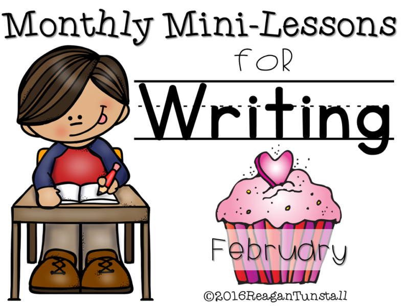 February Writing Mini-lessons
