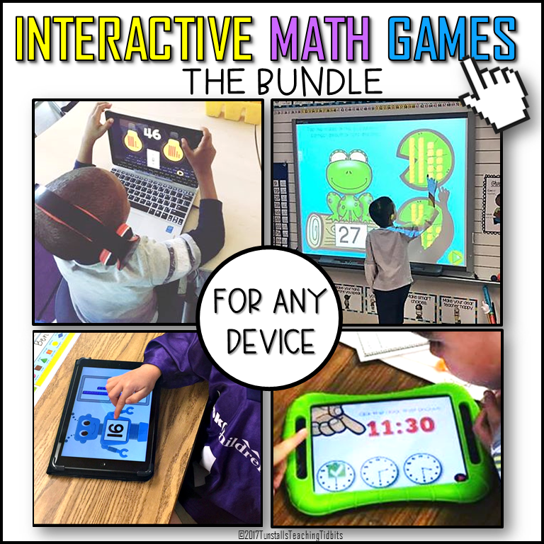 Math Games for Technology - Tunstall\'s Teaching Tidbits