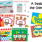 Math games technology