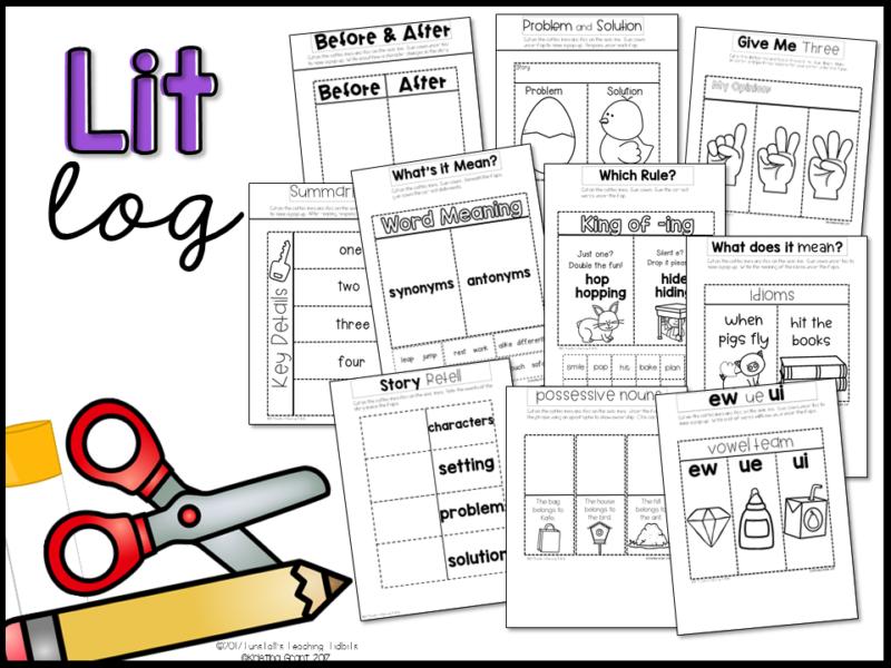 The Lit Kit April, kindergarten, first, second