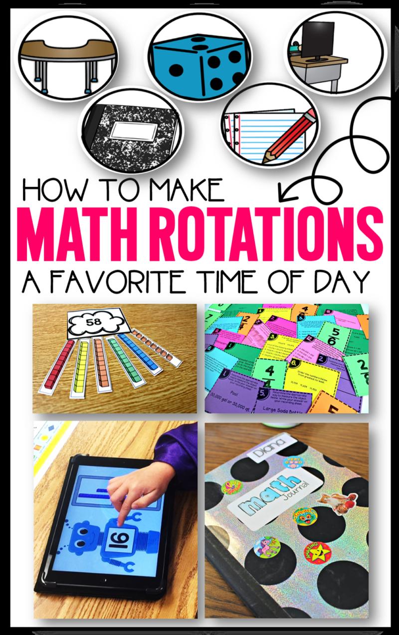 math rotations math workstations guided math