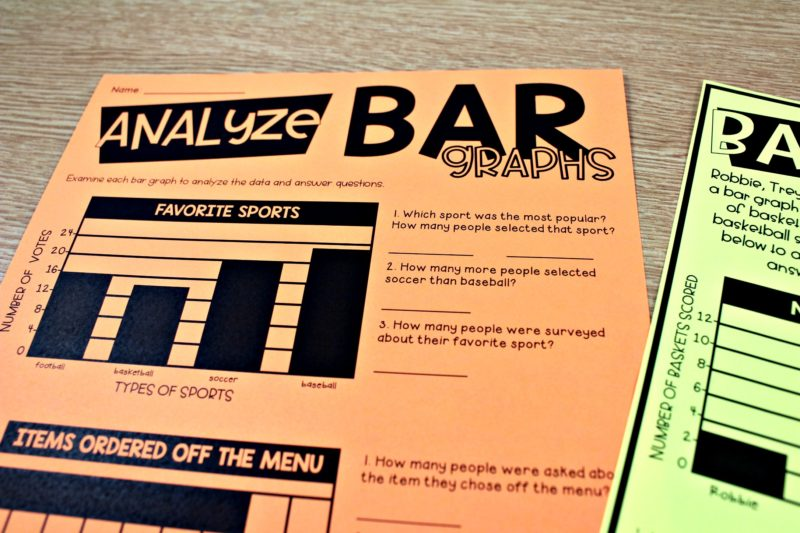 third graphing bars