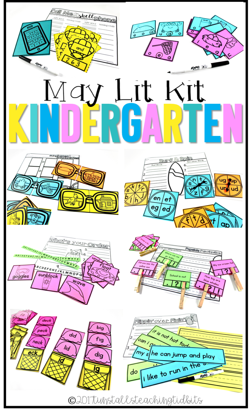 kinder lit kit may