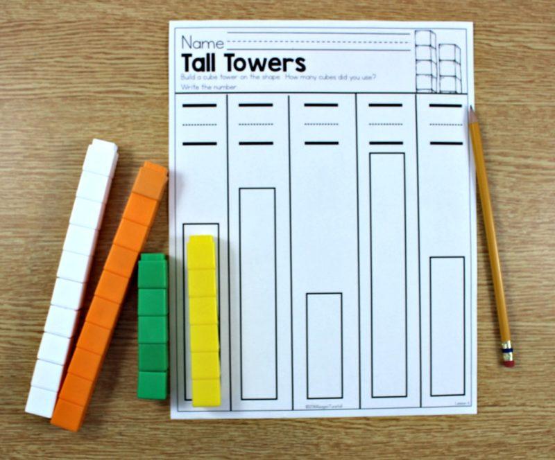 measurement in kindergarten
