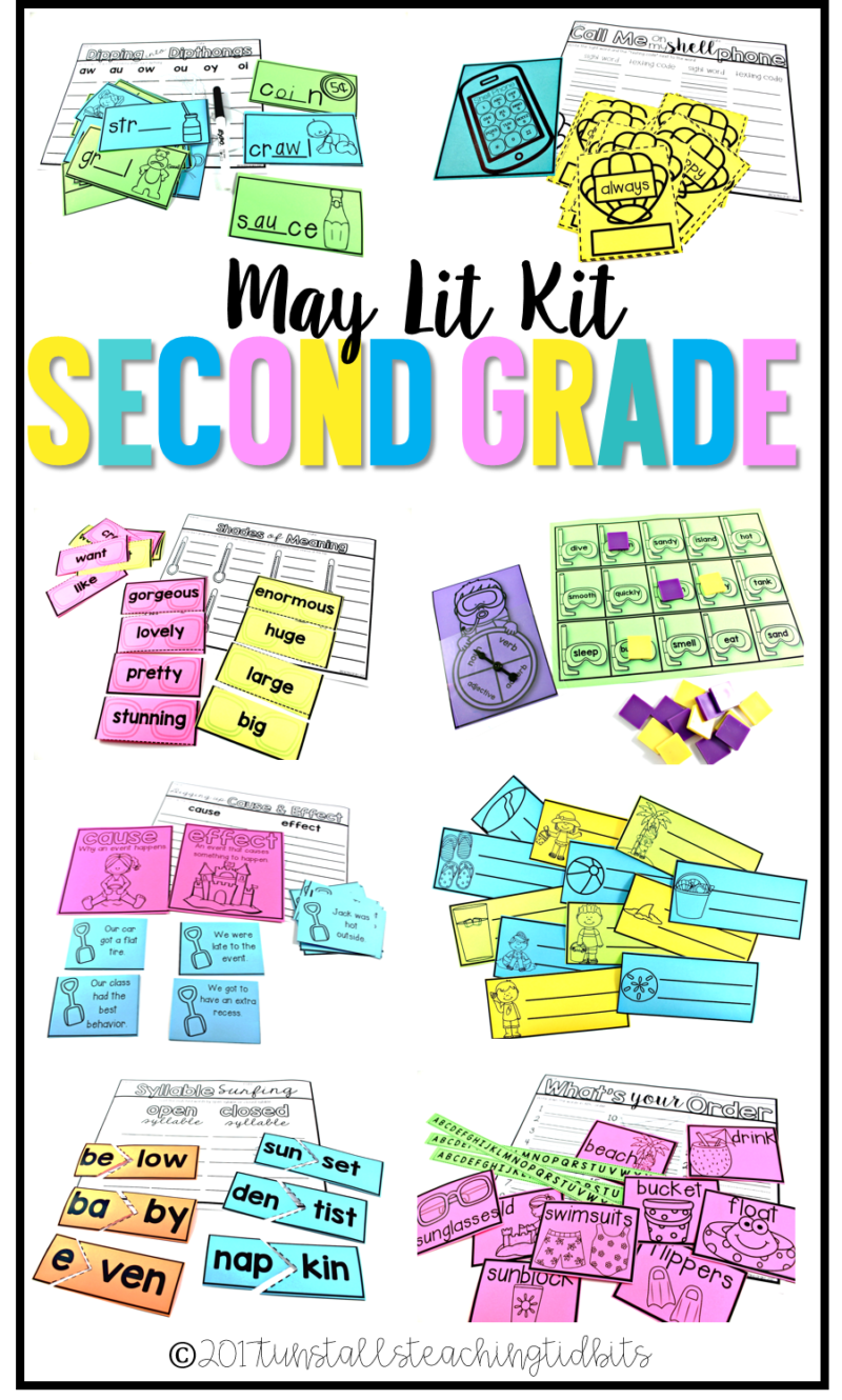 second grade may lit kit