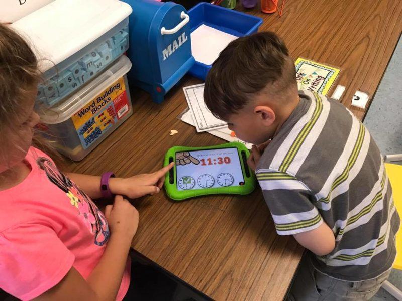 teaching time activities