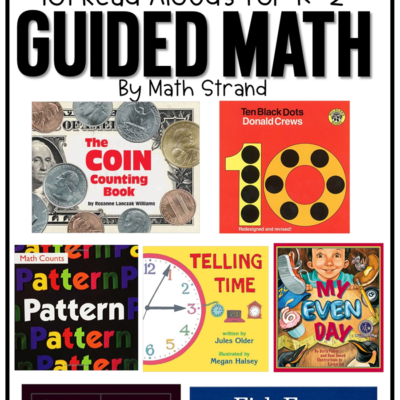 101 Guided Math Read Aloud Books
