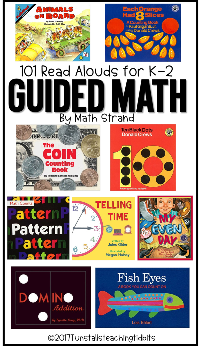 101 read alouds for guided math k-2