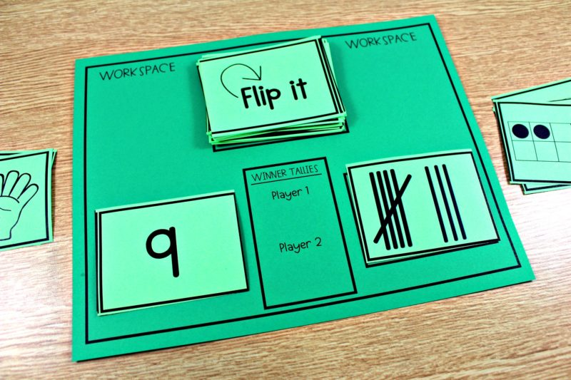 flip its first grade a game of comparisons