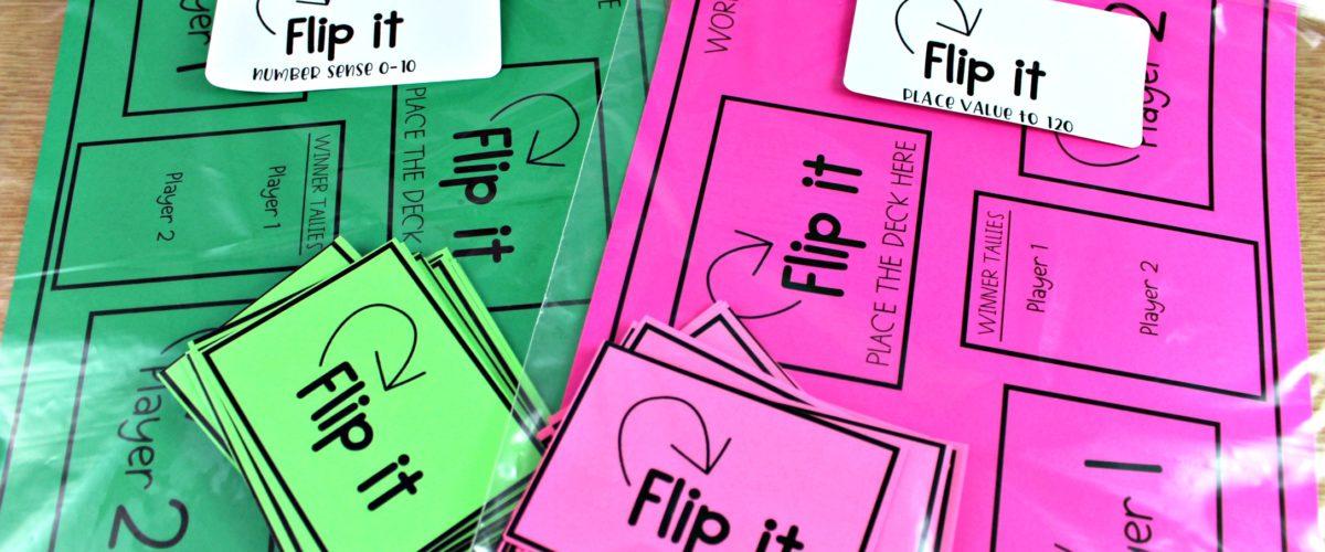 Flip It Math Games