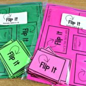 Flip It Math Game