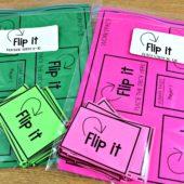 Flip It Math Game