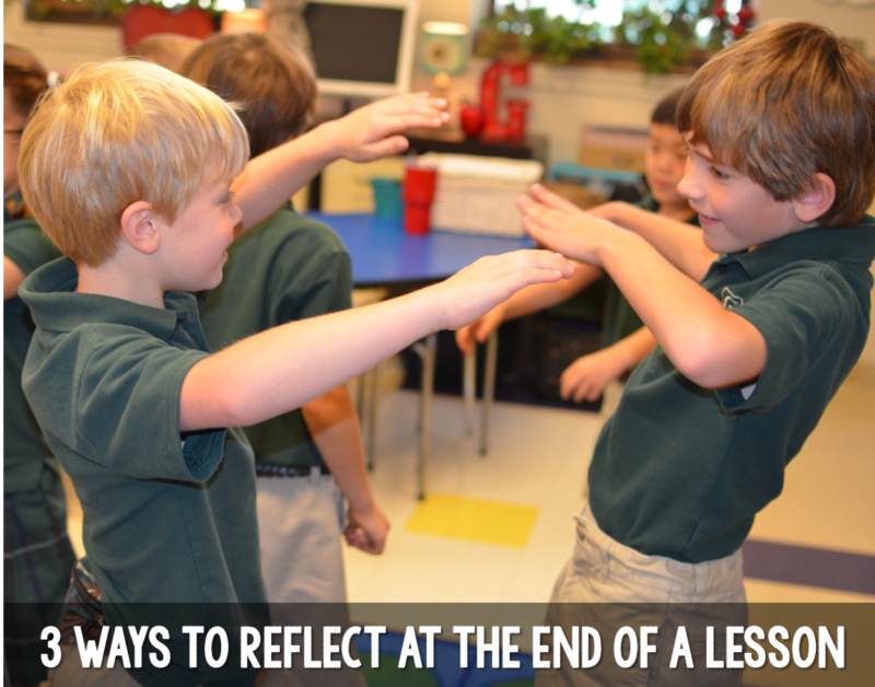 3 Simple Ways To Do A Lesson Reflection Tunstall S