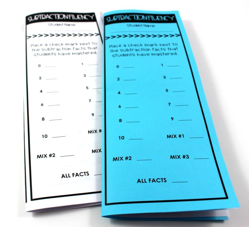 Math Fact Fluency - Tunstall\'s Teaching Tidbits