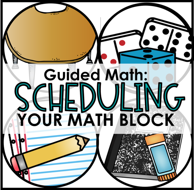 scheduling your math block