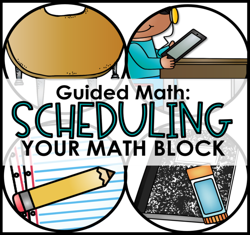 How to set up Guided Math in every classroom Kindergarten, first grade, second grade, third grade, fourth grade, and fifth grade. This blog post gives you steps to help start small group math at the beginning of the year. To learn more, visit www.tunstallsteachingtidbits.com