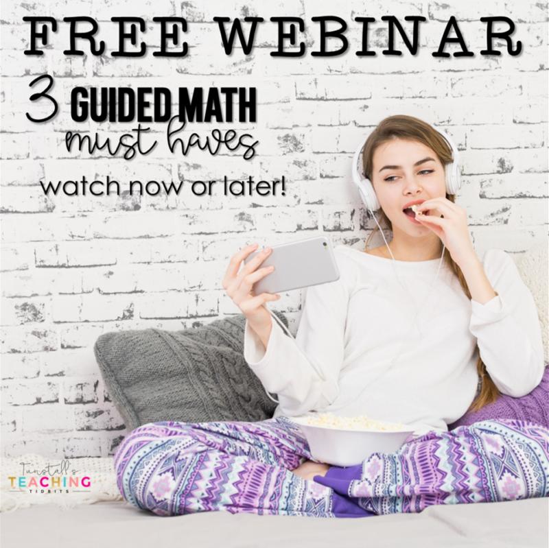 Guided Math Webinar