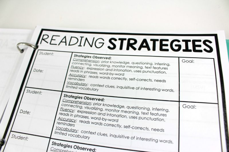 "Take notes during small group reading with this Guided Reading Teacher Binder. Great for RTI documentation, RTI forms, RTI organization, guided reading forms, guided reading documentation, lesson planning, managing groups, and observational note-taking! To learn more about ""Let's Celebrate Reading"" at www.tunstallsteachingtidbits.com"
