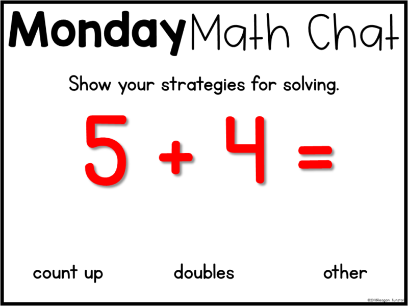 math warm up