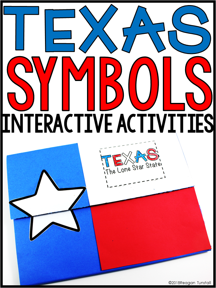 Texas Symbols And Landmarks Tunstalls Teaching Tidbits