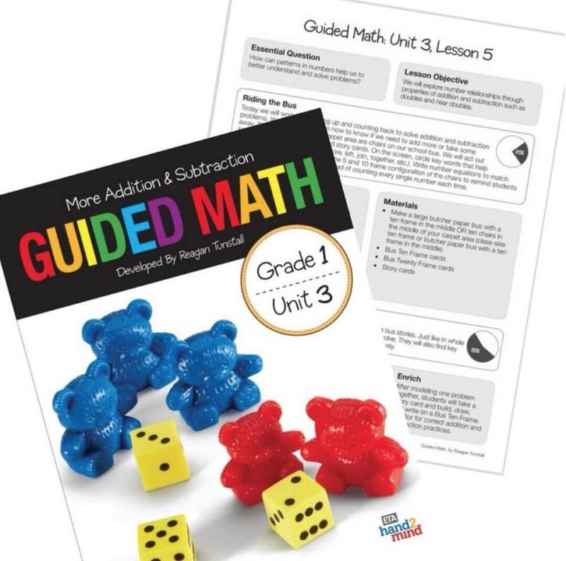 Guided Math Resources Tunstall S Teaching Tidbits