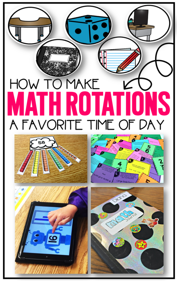 Guided math rotations management