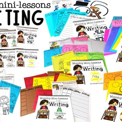 Writing Mini-Lessons for the Year