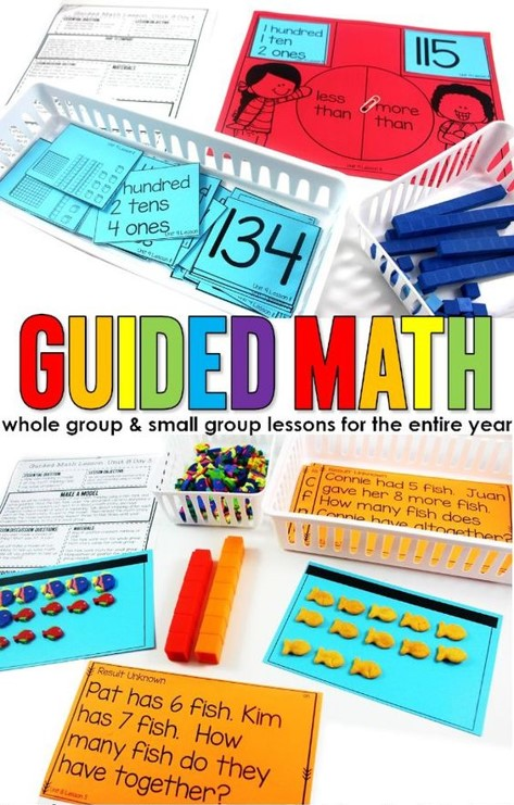 Lesson plans for the guided math structure. small group math instruction allows students to have math exploration in a risk-free learning environment. Kindergarten, first grade, second grade, third grade, fourth grade, fifth grade