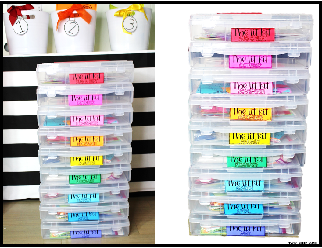 Free labels for the lit kit grades K-3