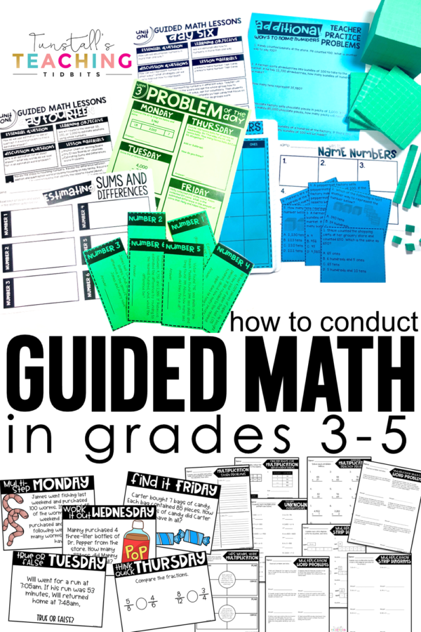 guided math in grades 3-5