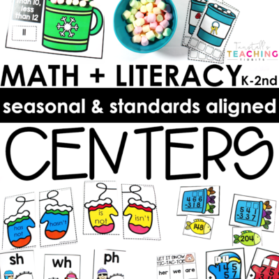 Winter Math and Literacy