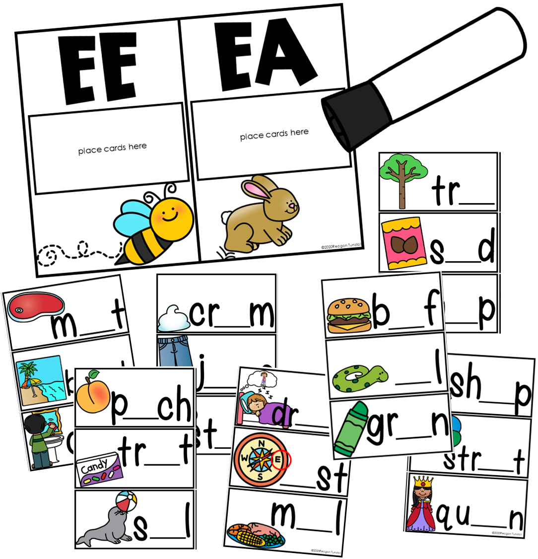Phonics for leap week? You guessed it! EE and EA for the win.