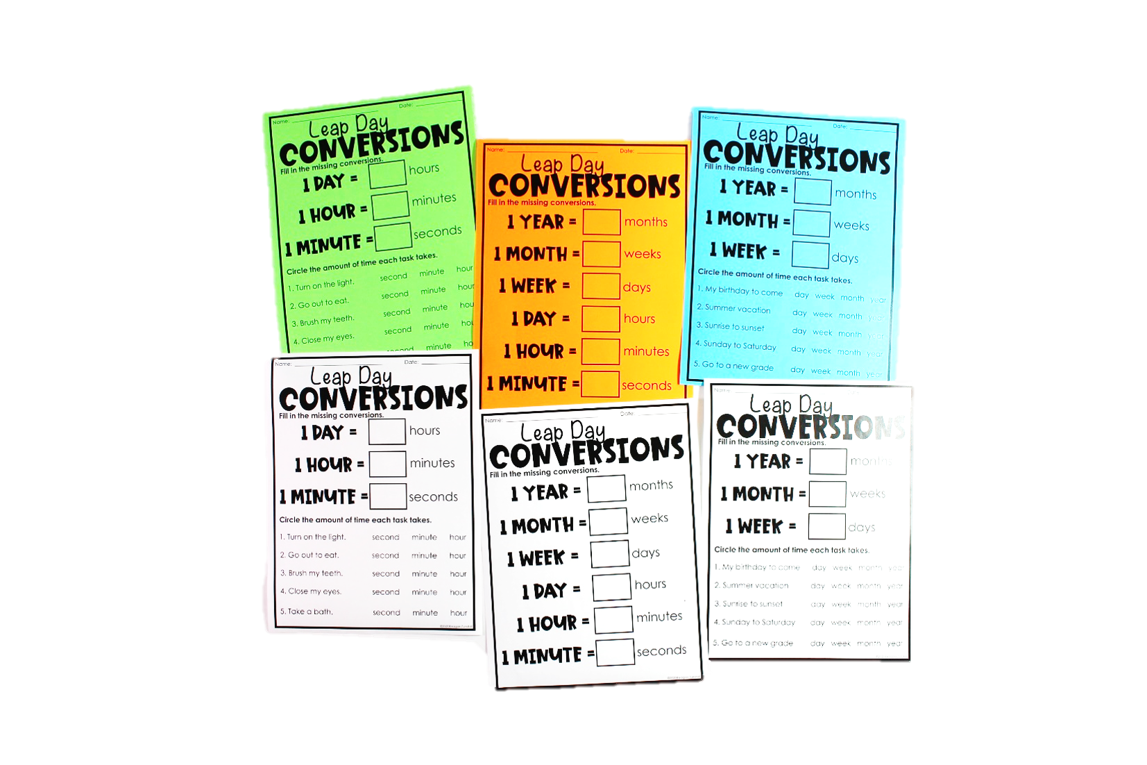 Conversions are always contagious on these days and it makes sense to embrace them! How many months in a year? How many minutes in a hour? Let's get down to it and to take it further we will answer some time increment questions.
