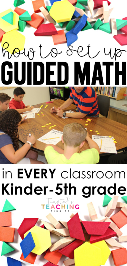 guided math set up