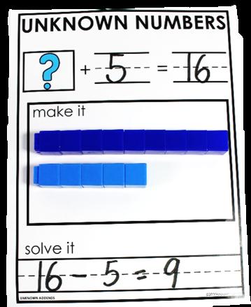 make a ten math strategy