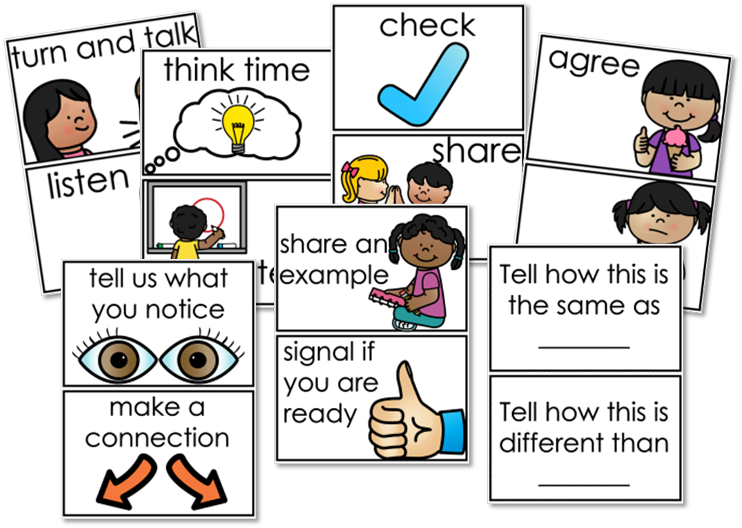 math talk academic word stems