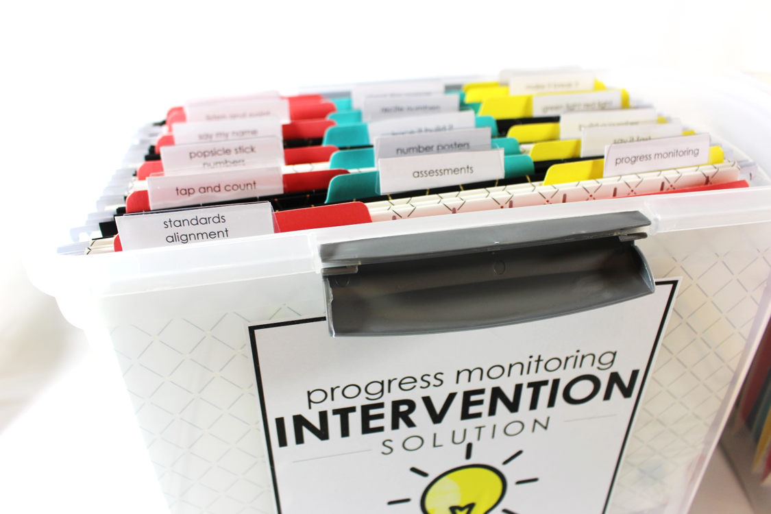 intervention solution for math