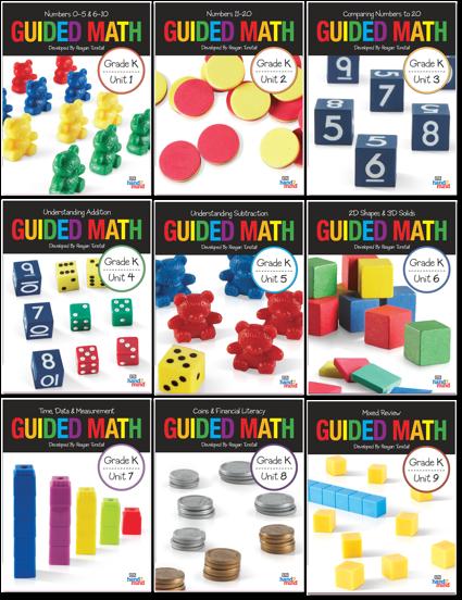 guided math bundle