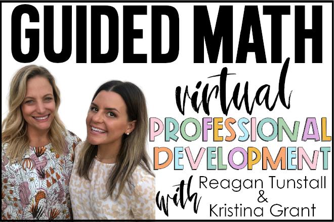 guided math virtual professional development webinar