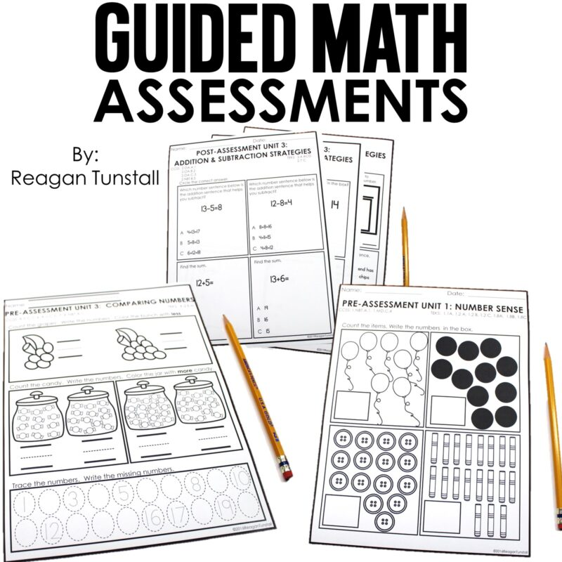 Guided Math Assessments