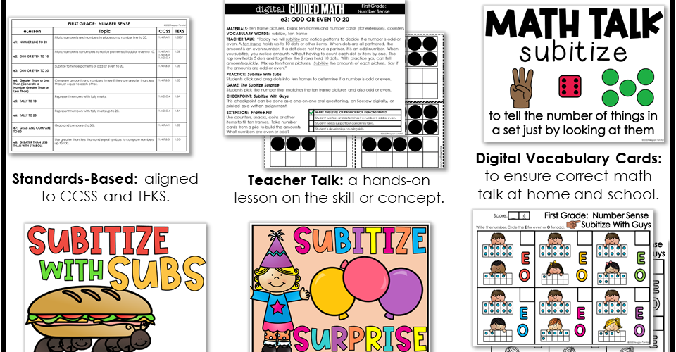 Digital Guided Math for Distance Learning