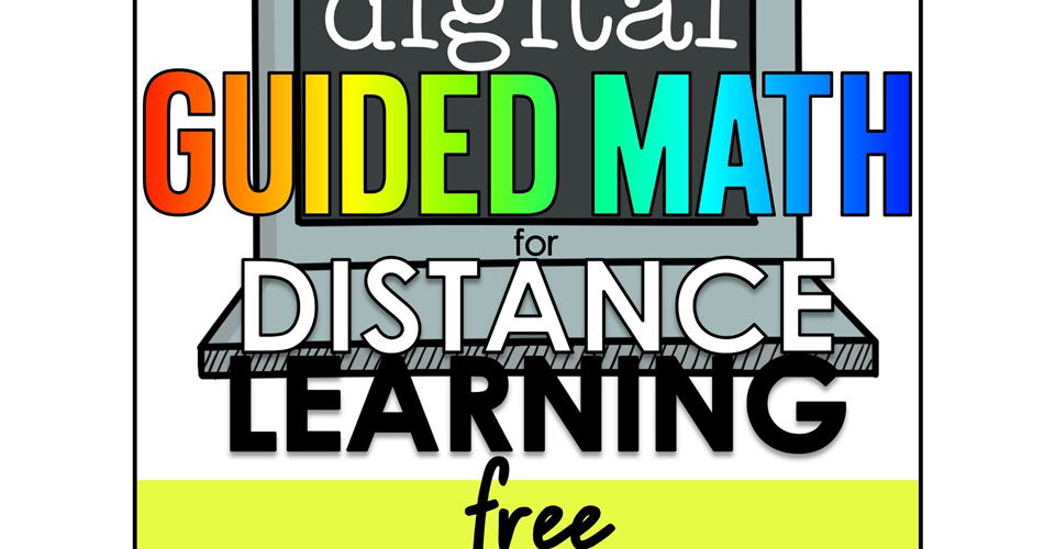 Digital Guided Math: try it free