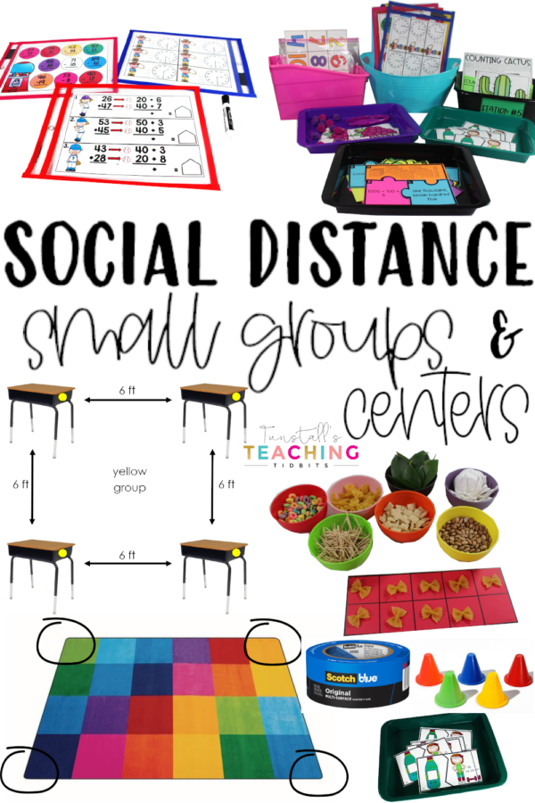 social distance small groups and centers