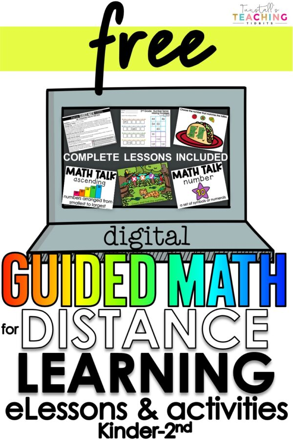 Digital Guided Math Distance Learning