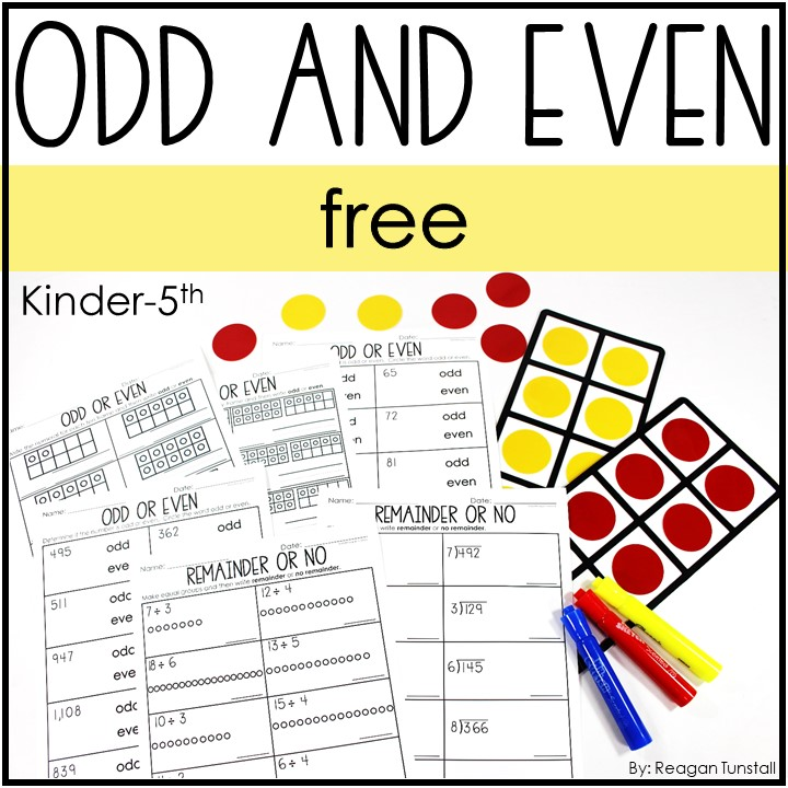 odd and even free